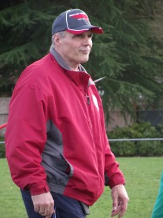 Head track coach Russ Vincent.