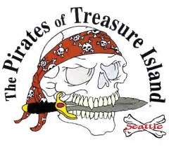 Pirates of Treasure Island logo