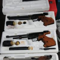 Stolen weapons recovered by LPD
