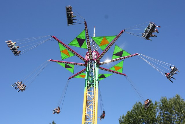 People who do not like heights should avoid this ride.