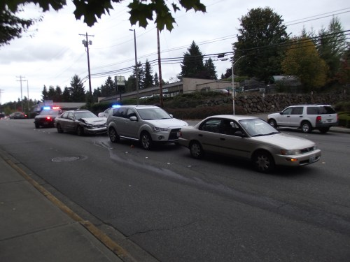 Three-car accident on 220th Street SW, Oct. 10 002