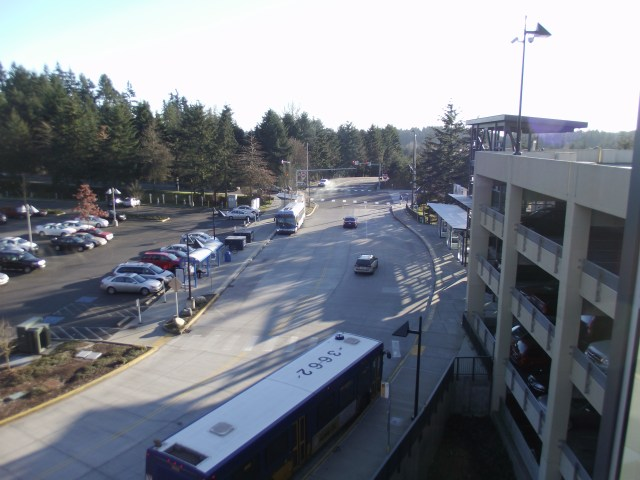 The entrance and ground-level parking lot could see major changes following the release of the Sound Transit Lynnwood Link Environmental Impact Statement, expected in early 2015