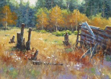 """Old Field Autumn"" by Steve Whitney"