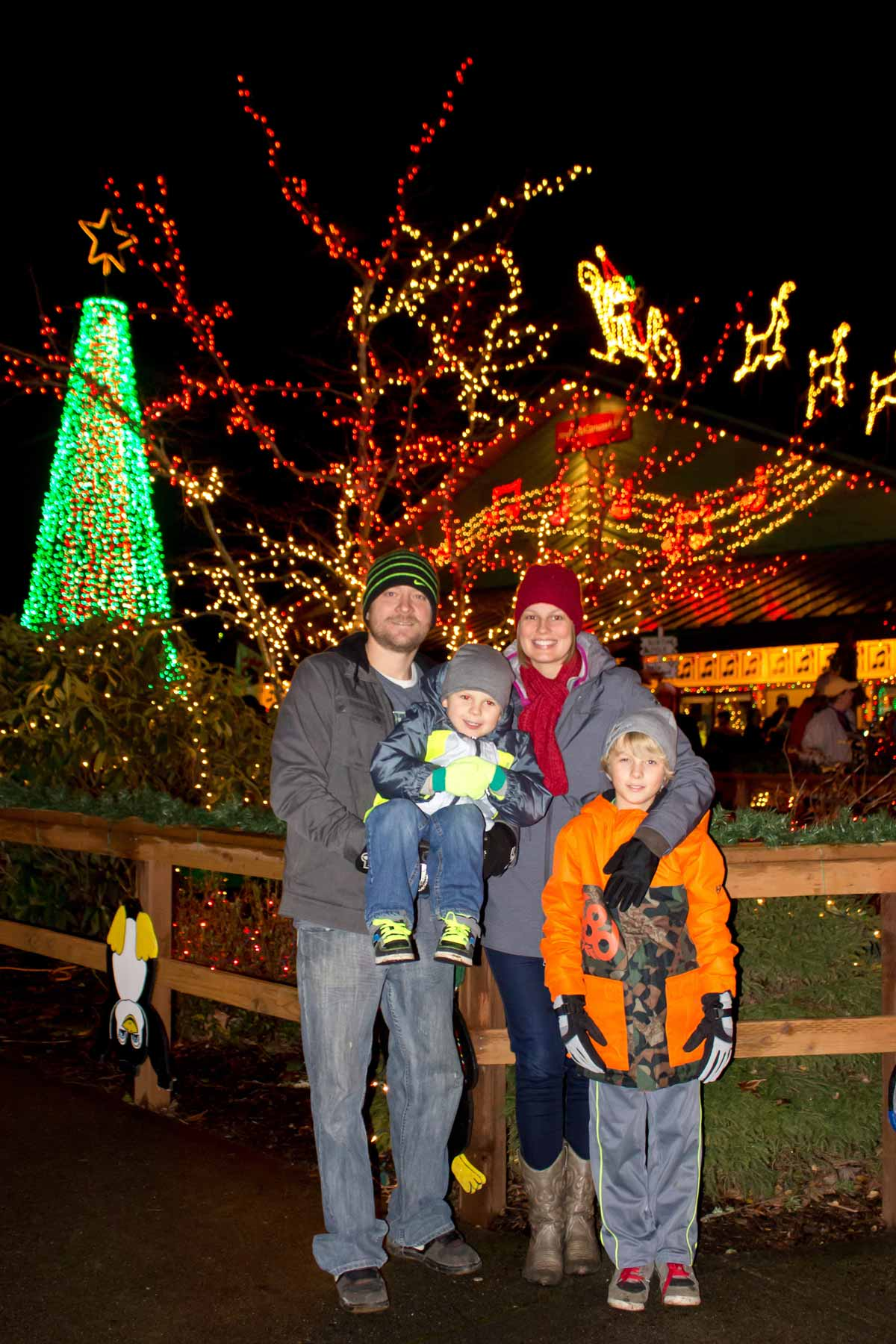 the lights of christmas will shine brightly for the 21st year this december at warm beach camp in stanwood wa just one hour north of seattle - Lights Of Christmas Warm Beach