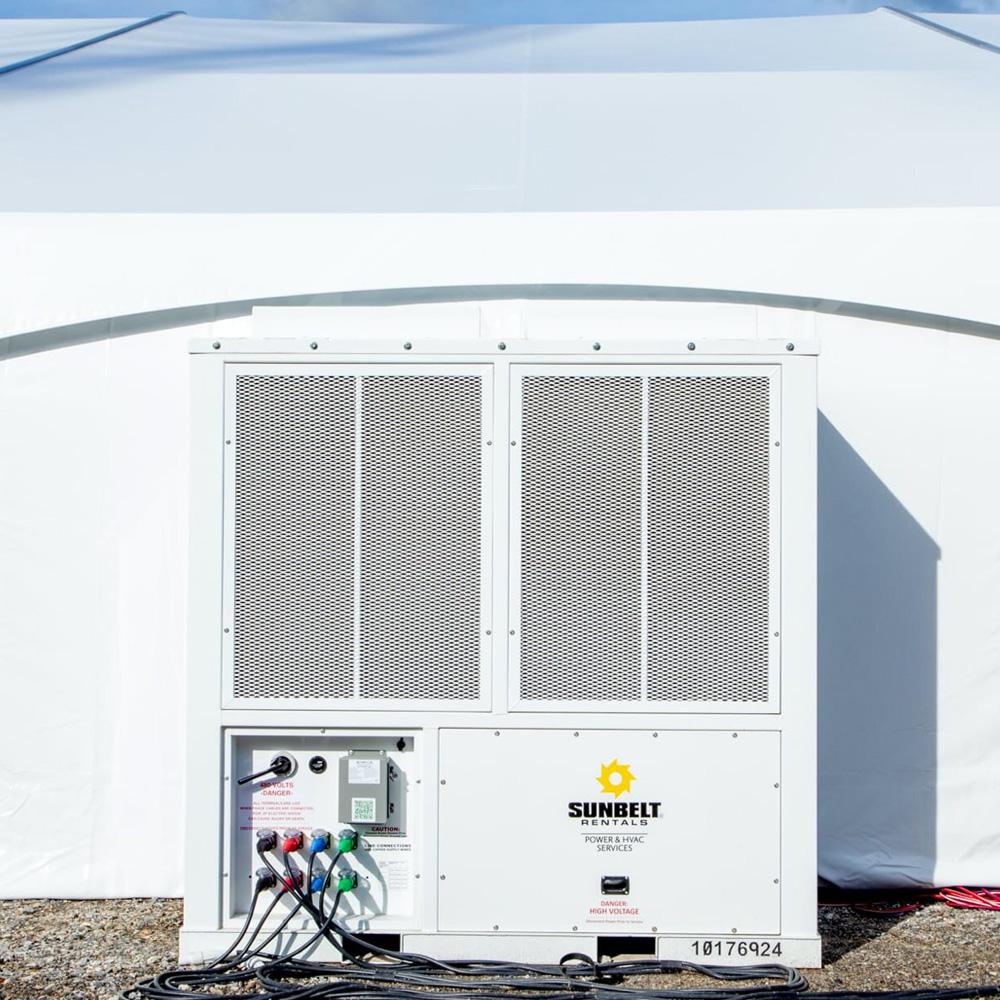 MLU Services Tent HVAC