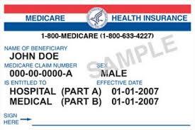 Medicare Beneficiary Card
