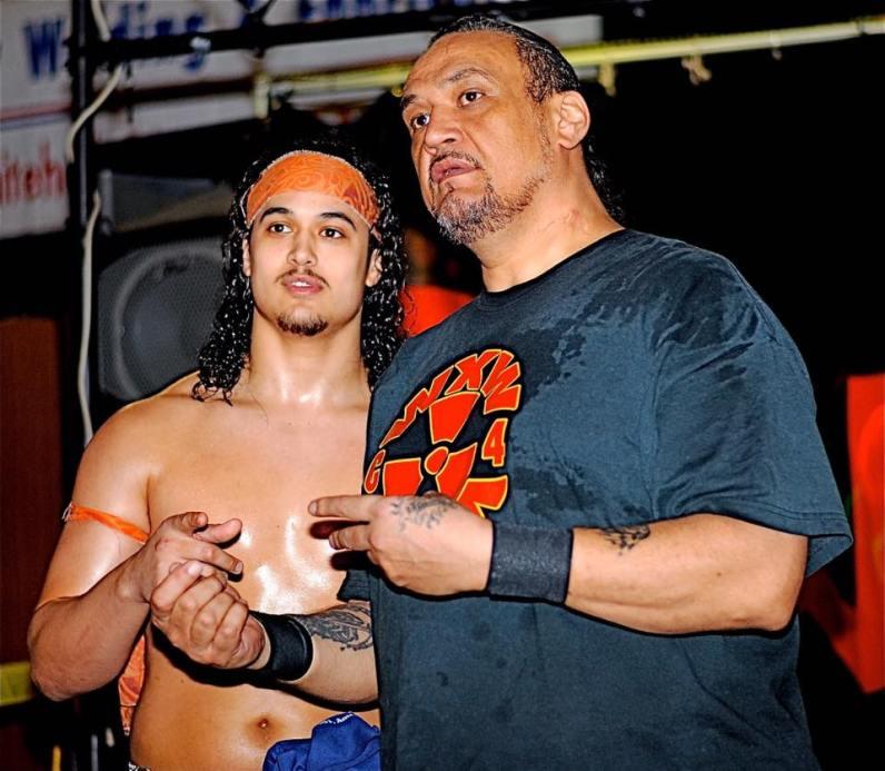 Lance with father Samu