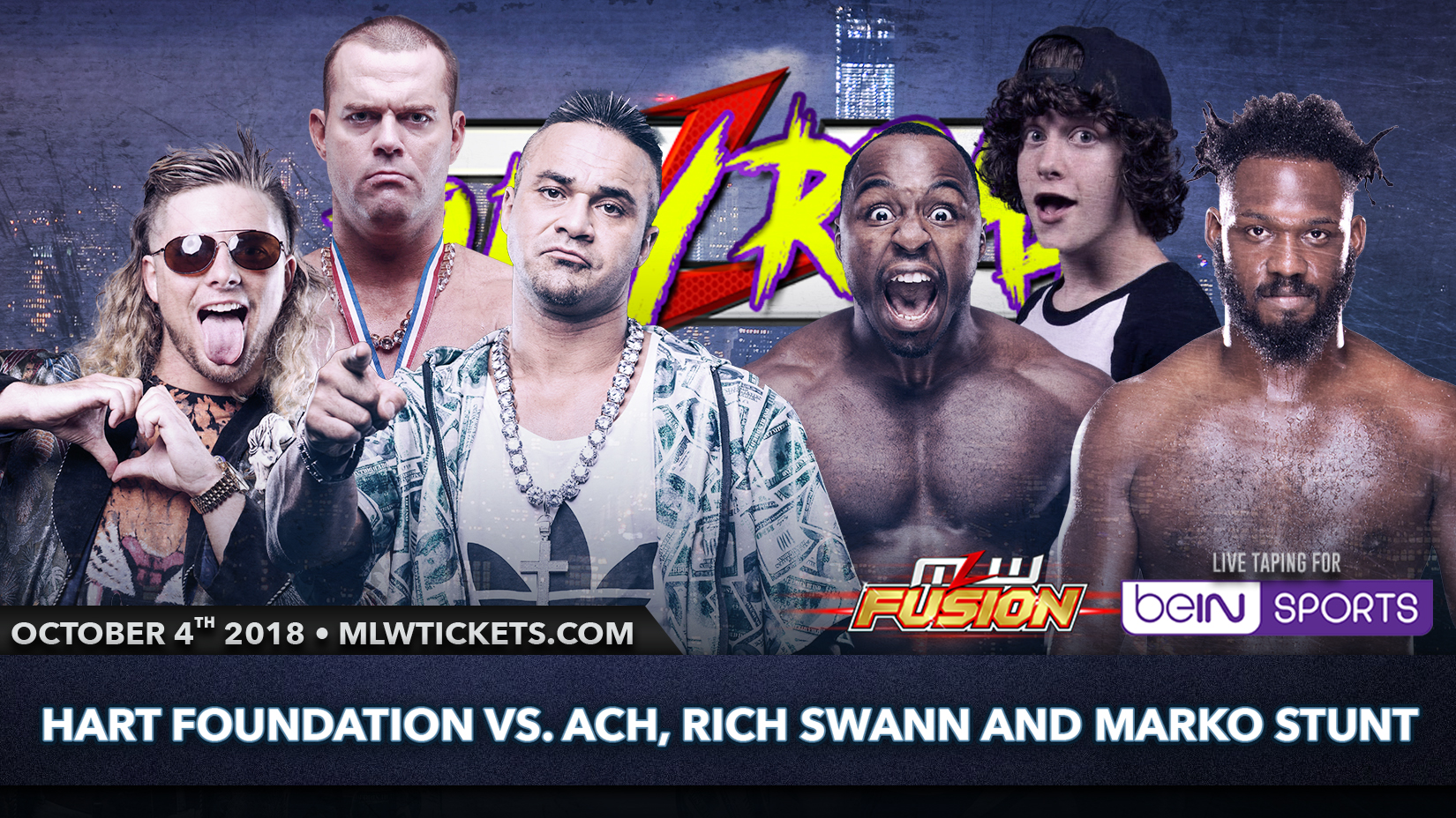 Marko Stunt to make MLW debut Oct  4th versus Hart Foundation