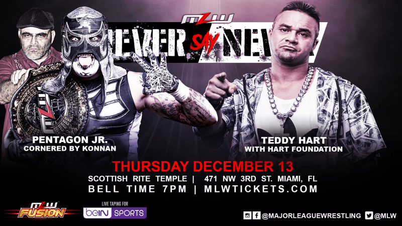 Pentagon vs Teddy Hart cb edit