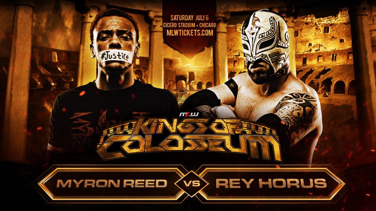 Resultado de imagen para Myron Reed vs. Rey Horus