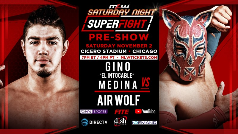"AirWolf vs. Gino ""El Intocable"" Medina"