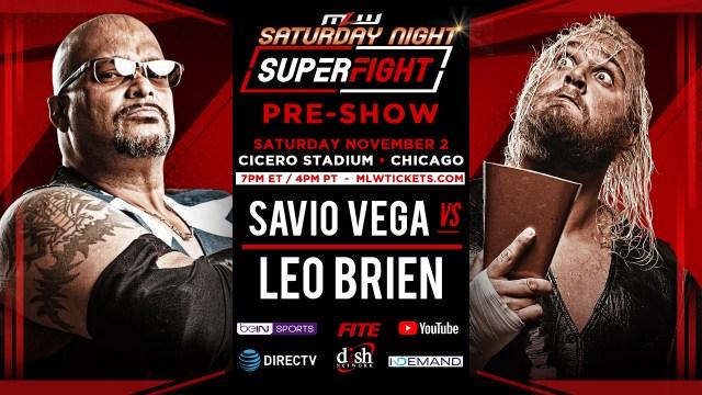 Savio Vega vs. Leo Brien
