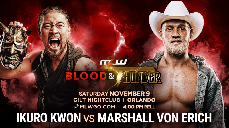 Marshall Von Erich vs. Ikuro Kwon