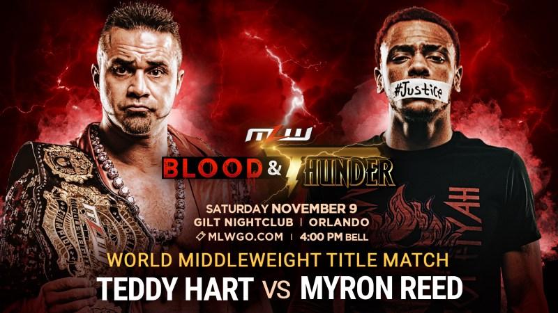 Teddy Hart vs. Myron Reed