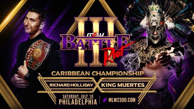King Muertes vs. Richard Holliday signed for Battle Riot