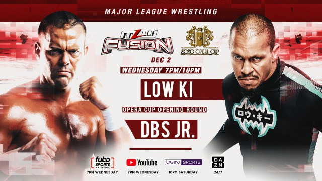 Low Ki vs. DBS to main event this Wednesday's FUSION