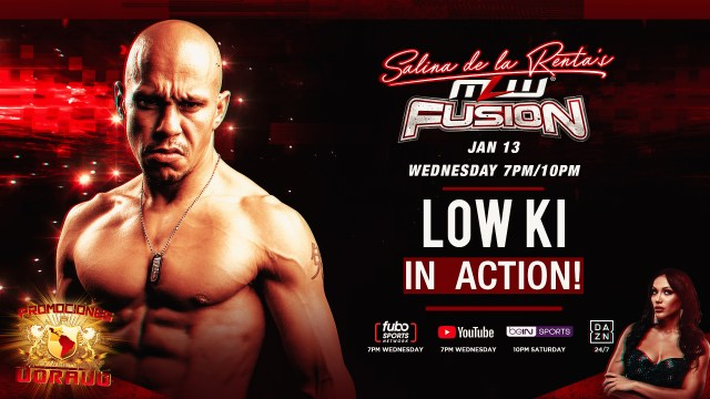 Salina puts Low Ki in action this Wednesday on FUSION
