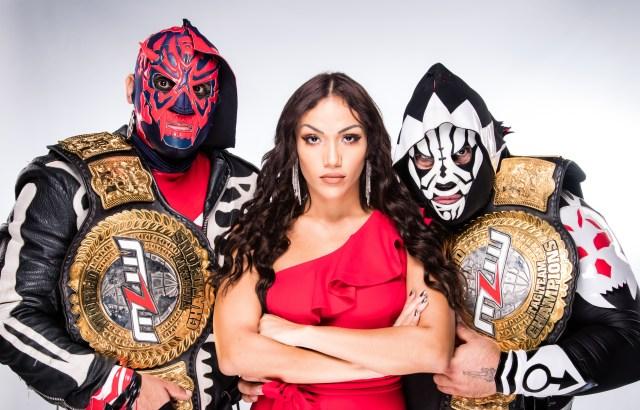 Los Parks: New World Tag Team Champions