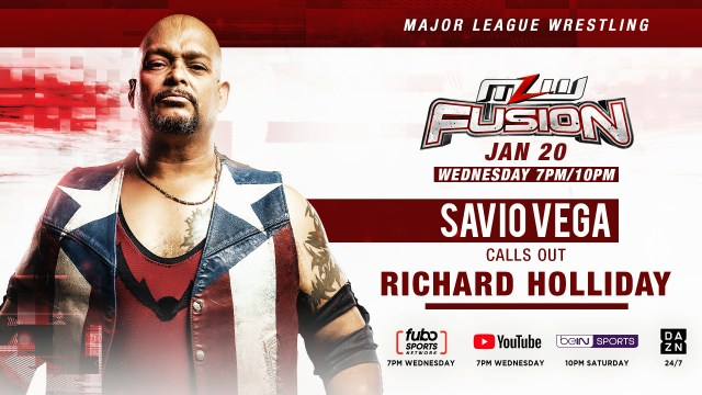 Savio Vega calls out Richard Holliday TONIGHT