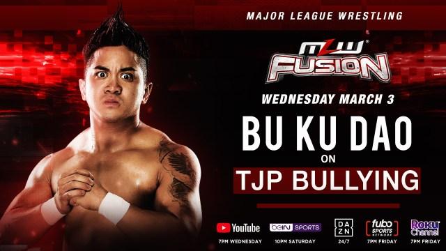 Bu Ku Dao speaks up on TJP this Wednesday