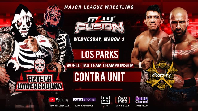 World Tag Team Title bout added to FUSION