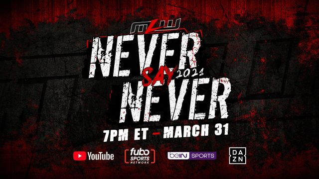 Never Say Never signature event announced for March