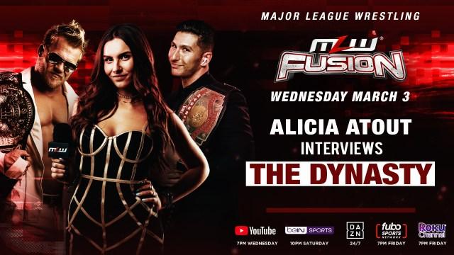 Alicia Atout talks with the Dynasty tonight