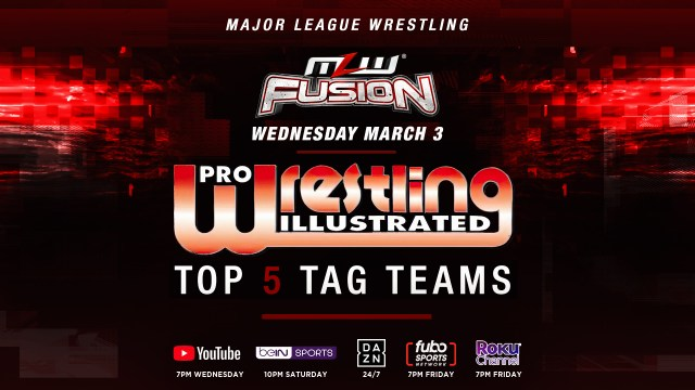 PWI Top 5 Tag Teams revealed tonight