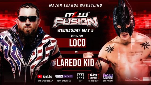 Laredo Kid vs. Gringo Loco added to FUSION