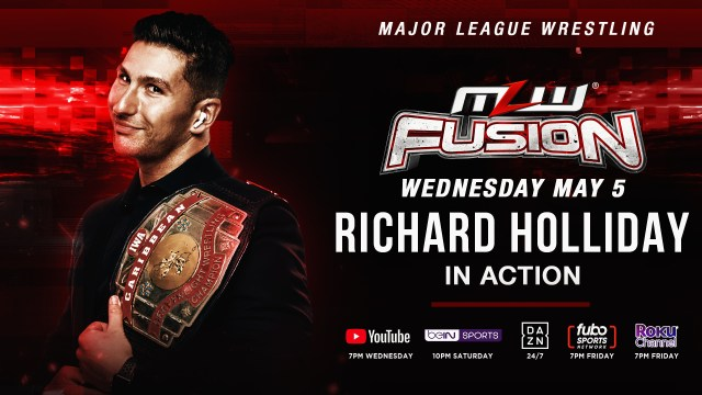 Caribbean Champ in action this week on FUSION