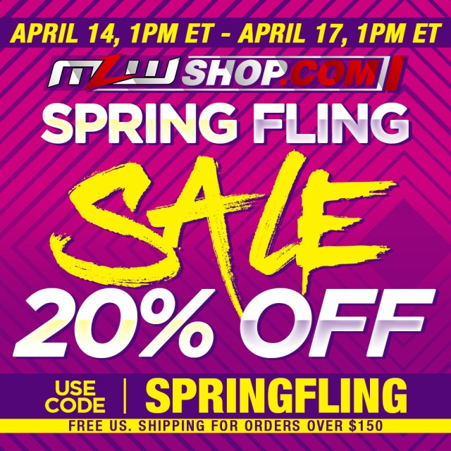 20% OFF SALE AT MLWShop.com
