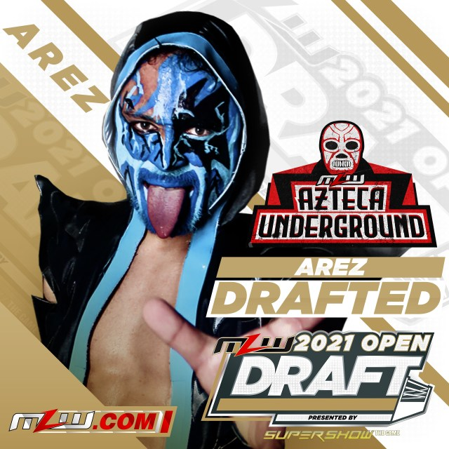 Arez drafted by Cesar Duran