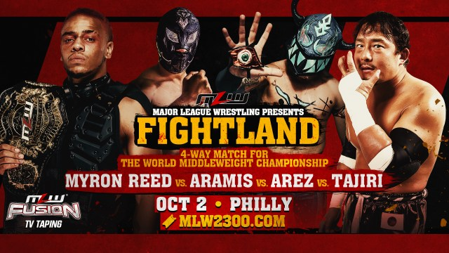 4-Way World Middleweight Championship bout added to FIGHTLAND