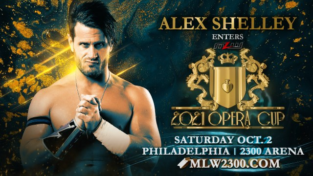 Alex Shelley joins MLW; enters Opera Cup