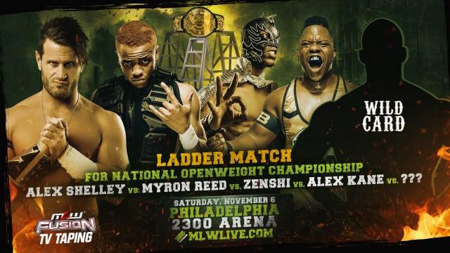 Ladder match for National Title signed for Nov 6