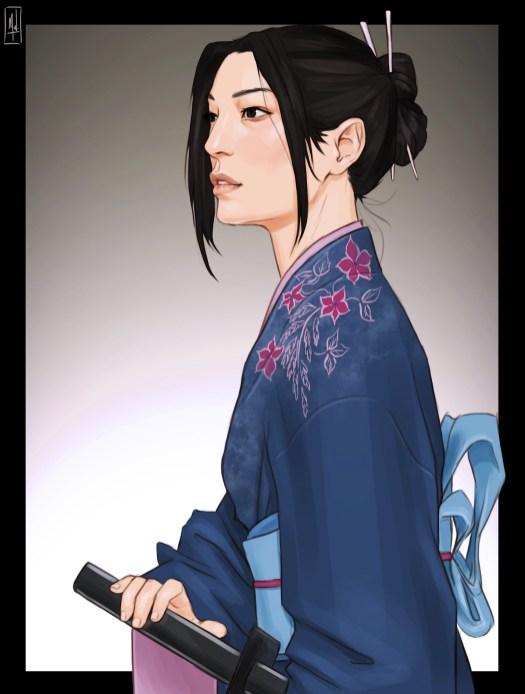 Misaki (The Sword of Kaigen) by Merwild