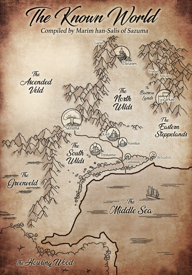 Map of Altima by Marim of Sazuma