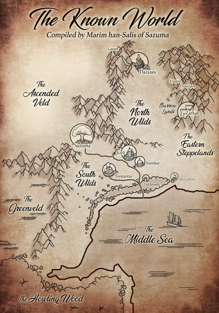 New Monthly Serial! (map + sample chapter)
