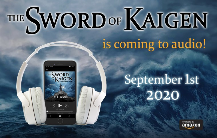 The Sword of Kaigen Audiobook available on Amazon