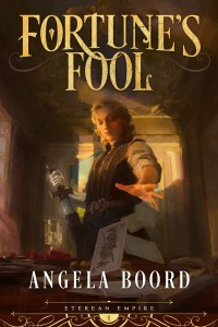 Fortune's Fool by Angela Boord (historical fantasy) cover for SPFBO Finalist Sale