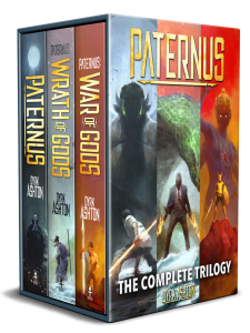 Paternus by Dyrk Ashton (urban fantasy) cover for SPFBO Finalist Sale