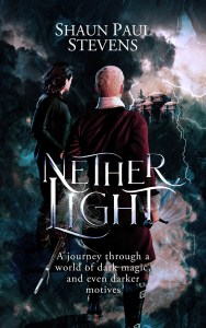 Nether Light by Shaun Paul Stevens (military fantasy) cover for SPFBO Finalist Sale