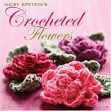"The pansy came from ""Nicky Epstein's Crocheted Flowers""..."