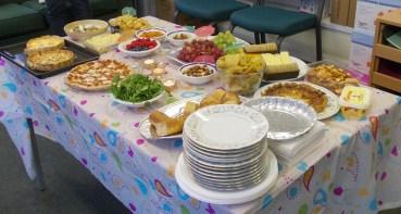 The 'savoury' table