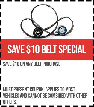 save 10 belt special