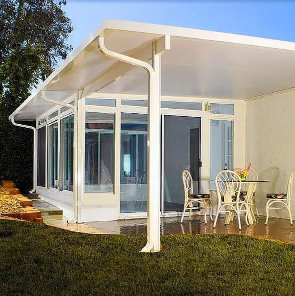 do it yourself aluminum patio cover kits