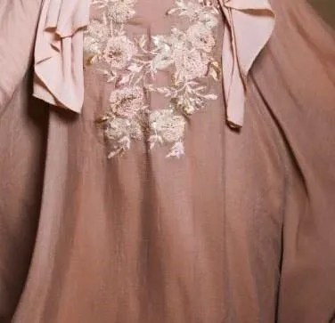 Wild Rose Cape Gown-Light Pink (1)