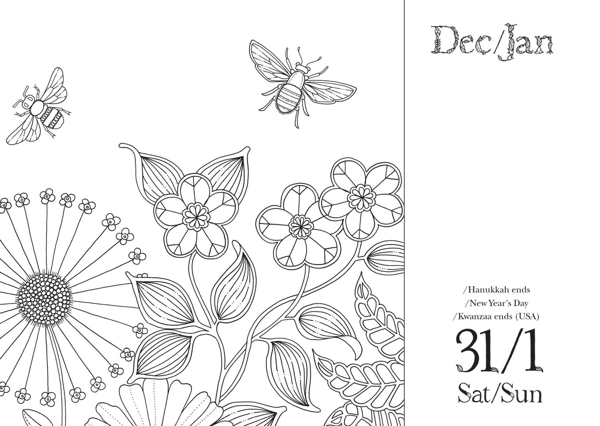 Johanna Basford Coloring Pages Magical Jungle Sketch