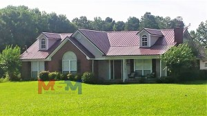 M&M Construction Services LLC licensed commercial and residential builder, metal roofing, metal buildings ms