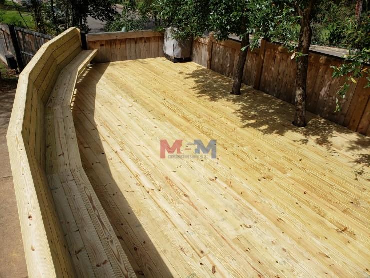 M&M Construction Services LLC deck builder MS, licensed general contractor,  best decks
